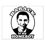 Barack Obama is my homeboy Small Poster