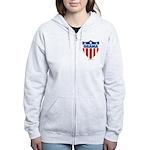 Obama Women's Zip Hoodie
