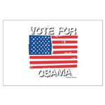 Vote for Obama Large Poster