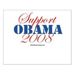 Support Obama Small Poster