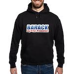 Barack for President Hoodie (dark)