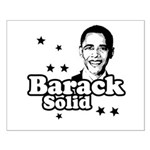 Barack Solid Small Poster
