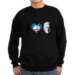 I Love Joe Biden Sweatshirt (dark)
