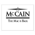 McCain / The Mac is back Small Poster