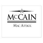 McCain / Mac Attack Small Poster