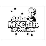 John McCain for president Small Poster