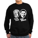 Vote Mac Not Black Sweatshirt (dark)