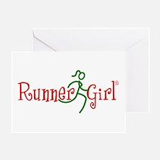 RunnerGirl Greeting Card