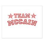 Team McCain Small Poster