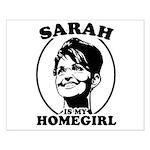Sarah Palin is my homegirl Small Poster