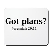 Got Plans? Mousepad