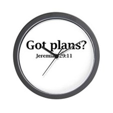 Got Plans? Wall Clock