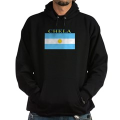 Chela Argentina Flag Hoodie