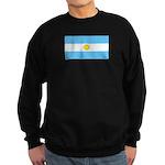Argentina Blank Flag Sweatshirt (dark)