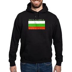 Bulgaria Bulgarian Flag Hoodie