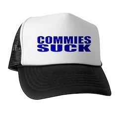 Commies Suck Trucker Hat