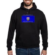 Alberta Albertan Flag Hoodie
