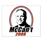 McCan't 2008 Small Poster