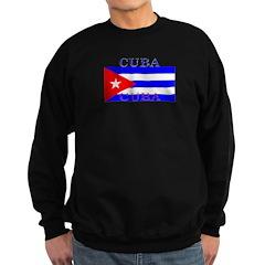 Cuba Cuban Flag Sweatshirt