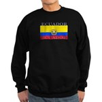 Ecuador Ecuadorian Flag Sweatshirt (dark)