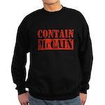 CONTAIN MCCAIN Sweatshirt (dark)