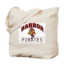 Harbor Pirates Tote Bag