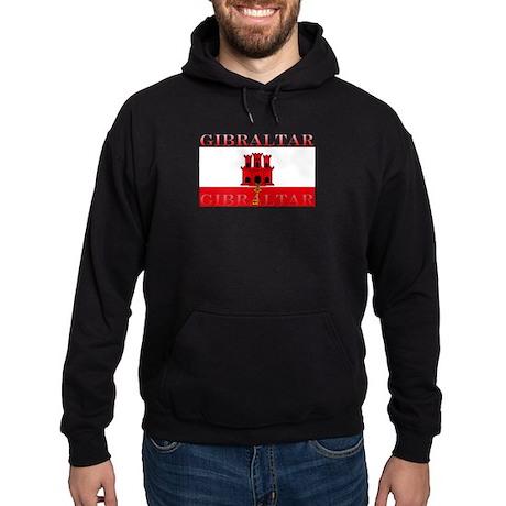 Gibraltar Flag Hoodie (dark)