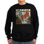 D'Uccle Rooster Sweatshirt (dark)
