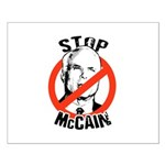 STOP MCCAIN Small Poster