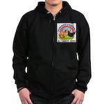 All American Breeds Zip Hoodie (dark)