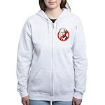 ANTI-MCCAIN Women's Zip Hoodie