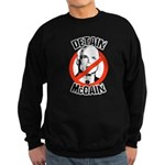 Anti-McCain: Detain McCain Sweatshirt (dark)