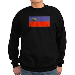 Liechtenstein Flag Sweatshirt (dark)