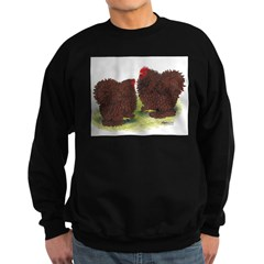 Red Frizzle Chickens Sweatshirt