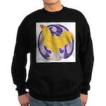 Buff Chantecler Cock Sweatshirt (dark)