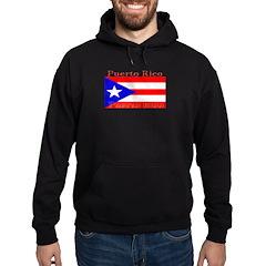 Puerto Rico Rican Flag Hoodie (dark)