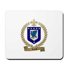 RIVEST Family Crest Mousepad