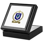 RIVEST Family Crest Keepsake Box