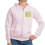 D'Anvers On Canvas Women's Zip Hoodie