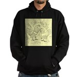 D'Anvers On Canvas Hoodie (dark)