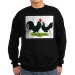 Black Dutch Pair Sweatshirt (dark)