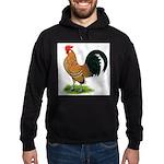 Dutch Bantam Rooster Hoodie (dark)