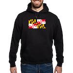 Maryland Blank Flag Hoodie (dark)