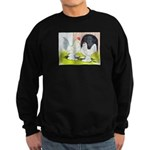 Porcelain d'Uccle Rooster and Sweatshirt (dark)