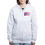 Ohio State Flag Women's Zip Hoodie