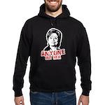 Anti-Hillary: Anyone but her Hoodie (dark)