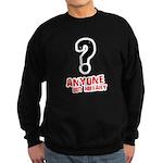Anyone but Hillary Sweatshirt (dark)