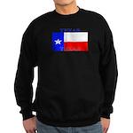 Texas Texan State Flag Sweatshirt (dark)