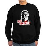 No Hillary / Anti-Hillary Sweatshirt (dark)