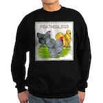 Feather-leg Trio Sweatshirt (dark)